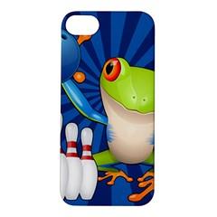 Tree Frog Bowling Apple Iphone 5s/ Se Hardshell Case