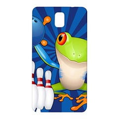 Tree Frog Bowling Samsung Galaxy Note 3 N9005 Hardshell Back Case