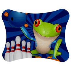 Tree Frog Bowling Jigsaw Puzzle Photo Stand (bow)