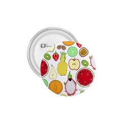Mango Fruit Pieces Watermelon Dragon Passion Fruit Apple Strawberry Pineapple Melon 1 75  Buttons