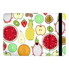 Mango Fruit Pieces Watermelon Dragon Passion Fruit Apple Strawberry Pineapple Melon Samsung Galaxy Tab Pro 10 1  Flip Case