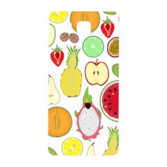 Mango Fruit Pieces Watermelon Dragon Passion Fruit Apple Strawberry Pineapple Melon Samsung Galaxy Alpha Hardshell Back Case