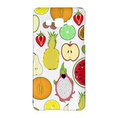 Mango Fruit Pieces Watermelon Dragon Passion Fruit Apple Strawberry Pineapple Melon Samsung Galaxy A5 Hardshell Case