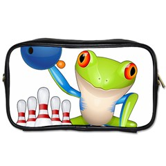Tree Frog Bowler Toiletries Bags 2 Side