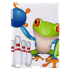 Tree Frog Bowler Apple Ipad 3/4 Hardshell Case (compatible With Smart Cover)