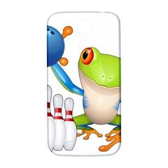 Tree Frog Bowler Samsung Galaxy S4 I9500/i9505  Hardshell Back Case