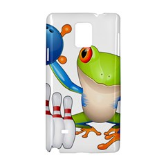 Tree Frog Bowler Samsung Galaxy Note 4 Hardshell Case