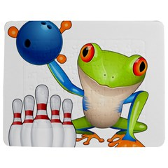 Tree Frog Bowler Jigsaw Puzzle Photo Stand (rectangular)