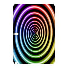 Hypnotic Circle Rainbow Samsung Galaxy Tab Pro 10 1 Hardshell Case