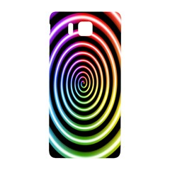 Hypnotic Circle Rainbow Samsung Galaxy Alpha Hardshell Back Case