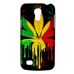 Marijuana Cannabis Rainbow Love Green Yellow Red Black Galaxy S4 Mini