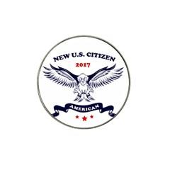 New U S  Citizen Eagle 2017  Hat Clip Ball Marker