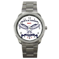 New U S  Citizen Eagle 2017  Sport Metal Watch