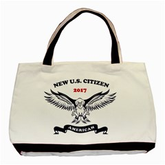 New U S  Citizen Eagle 2017  Basic Tote Bag (two Sides)