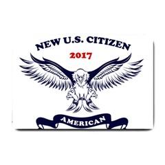 New U S  Citizen Eagle 2017  Small Doormat