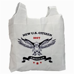 New U S  Citizen Eagle 2017  Recycle Bag (two Side)