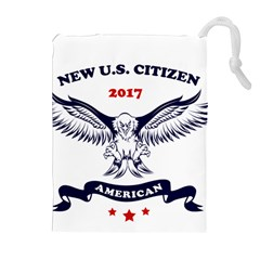New U S  Citizen Eagle 2017  Drawstring Pouches (extra Large)