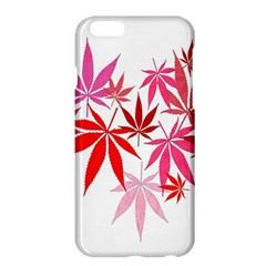 Marijuana Cannabis Rainbow Pink Love Heart Apple Iphone 6 Plus/6s Plus Hardshell Case
