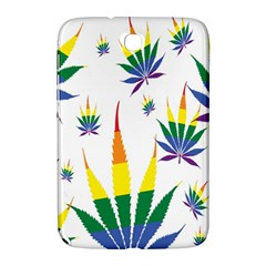 Marijuana Cannabis Rainbow Love Green Yellow Red White Leaf Samsung Galaxy Note 8 0 N5100 Hardshell Case