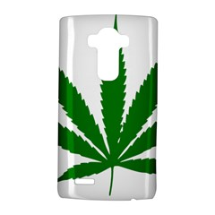 Marijuana Weed Drugs Neon Cannabis Green Leaf Sign Lg G4 Hardshell Case