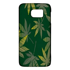 Marijuana Cannabis Rainbow Love Green Yellow Leaf Galaxy S6
