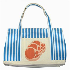Meat Striped Blue Tote Bag