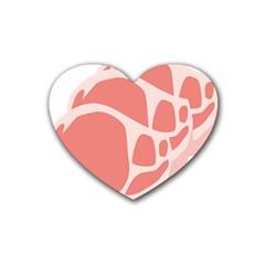 Meat Heart Coaster (4 Pack)