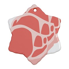 Meat Ornament (snowflake)