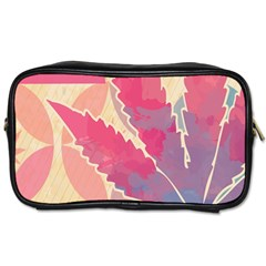 Marijuana Heart Cannabis Rainbow Pink Cloud Toiletries Bags