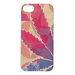 Marijuana Heart Cannabis Rainbow Pink Cloud Apple Iphone 5s/ Se Hardshell Case