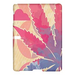 Marijuana Heart Cannabis Rainbow Pink Cloud Samsung Galaxy Tab S (10 5 ) Hardshell Case