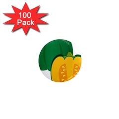Pumpkin Peppers Green Yellow 1  Mini Magnets (100 Pack)