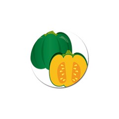 Pumpkin Peppers Green Yellow Golf Ball Marker (10 Pack)