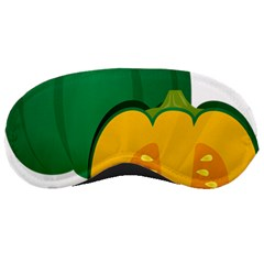 Pumpkin Peppers Green Yellow Sleeping Masks