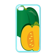 Pumpkin Peppers Green Yellow Apple Iphone 4 Case (color)