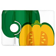 Pumpkin Peppers Green Yellow Kindle Fire Hdx Flip 360 Case