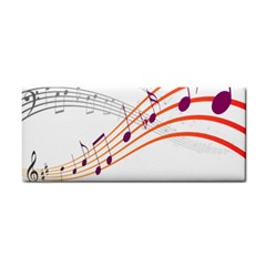 Musical Net Purpel Orange Note Cosmetic Storage Cases
