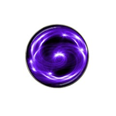 Purple Black Star Neon Light Space Galaxy Hat Clip Ball Marker