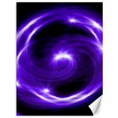 Purple Black Star Neon Light Space Galaxy Canvas 36  X 48