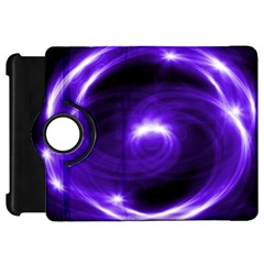 Purple Black Star Neon Light Space Galaxy Kindle Fire Hd 7