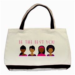 Black Girls Be The Best You Basic Tote Bag