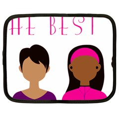 Black Girls Be The Best You Netbook Case (large)