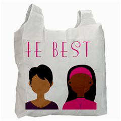 Black Girls Be The Best You Recycle Bag (two Side)