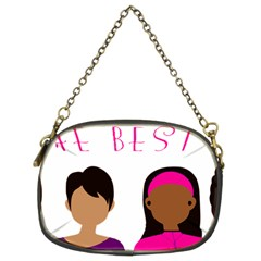 Black Girls Be The Best You Chain Purses (two Sides)