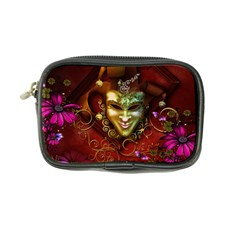Wonderful Venetian Mask With Floral Elements Coin Purse