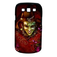 Wonderful Venetian Mask With Floral Elements Samsung Galaxy S Iii Classic Hardshell Case (pc+silicone)