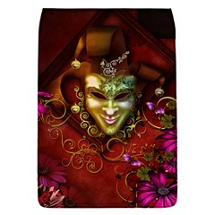 Wonderful Venetian Mask With Floral Elements Flap Covers (s)