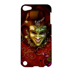 Wonderful Venetian Mask With Floral Elements Apple Ipod Touch 5 Hardshell Case