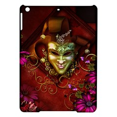Wonderful Venetian Mask With Floral Elements Ipad Air Hardshell Cases
