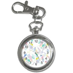 Layer Capital City Building Key Chain Watches